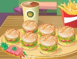 Cute Little Mini Burgers - Мини гамбургеры